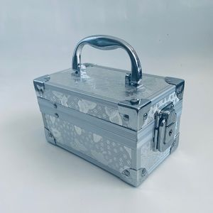 Other - Butterfly Silver Jewelry Box Container
